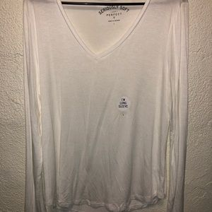 Long  Vneck T shirt